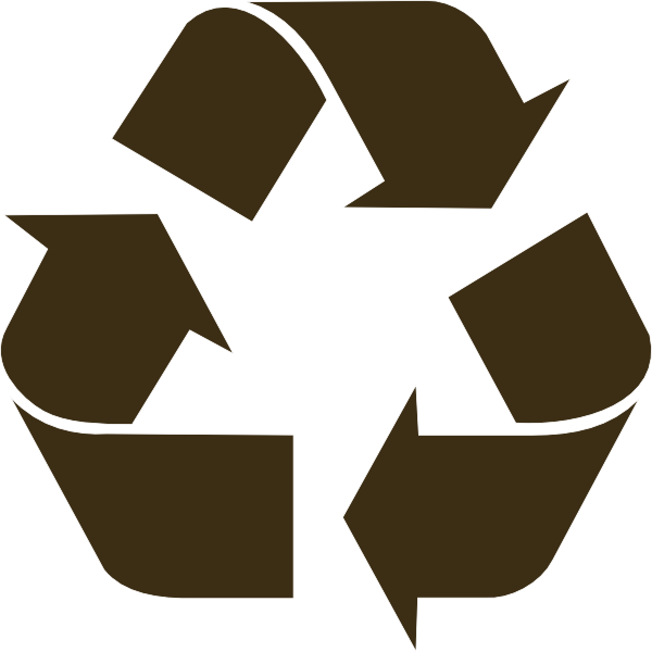 Recycle heart clipart library Black Recycle Symbol Clip Art at Clker.com - vector clip art online ... library