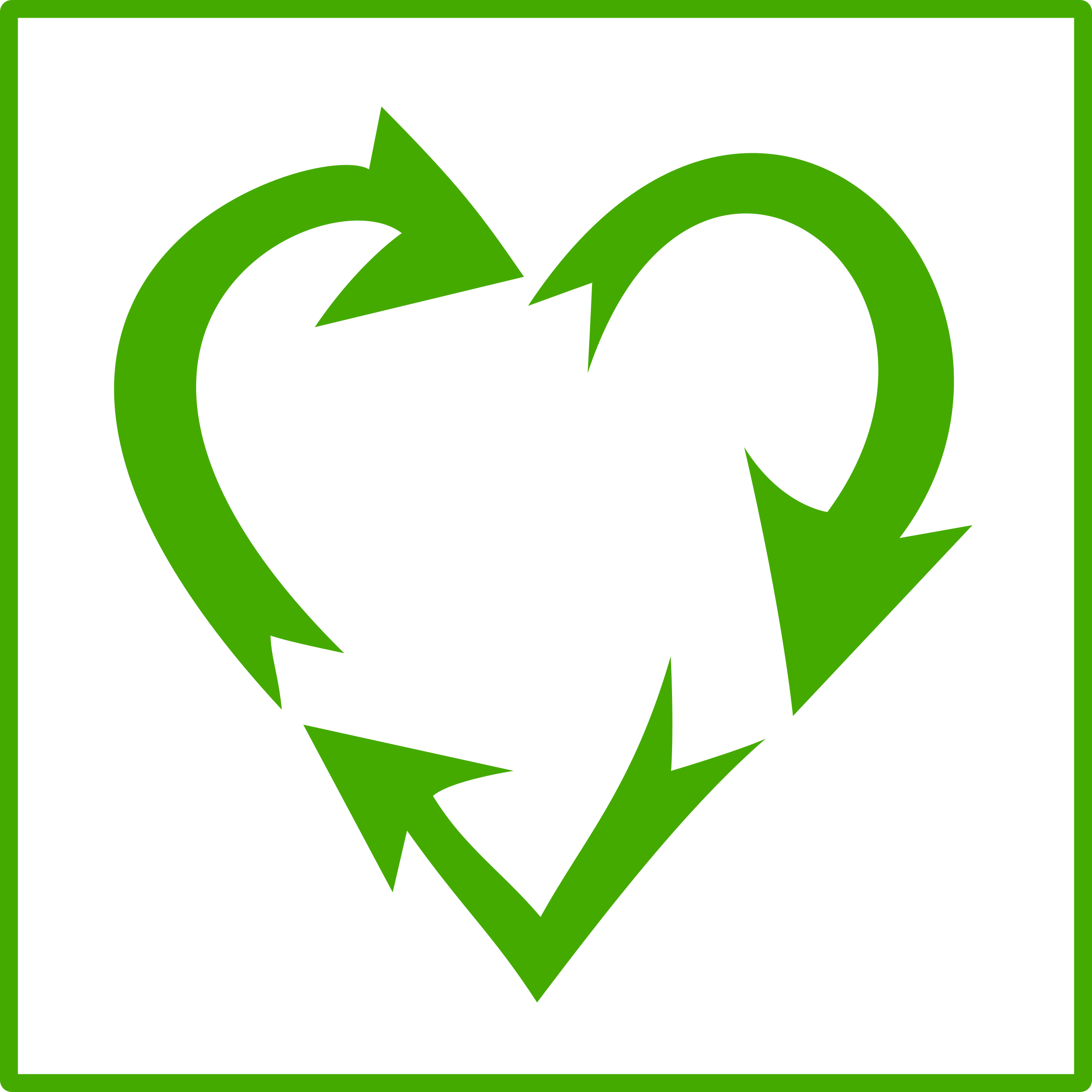 Recycle heart clipart png transparent library Clipart - recycle heart png transparent library