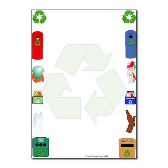 Recycling borders clip art png black and white stock 17 Best images about Borders Recycle | Recycling, Science and ... png black and white stock