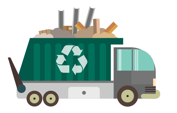 Recycling truck clipart clip royalty free stock Recycling truck clipart clipart images gallery for free ... clip royalty free stock