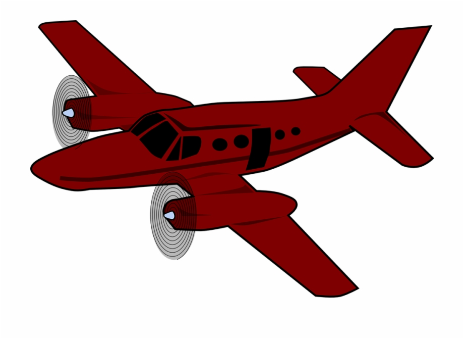 Red airplane clipart image library Download Red Aeroplane Clipart Airplane Aircraft Clip ... image library