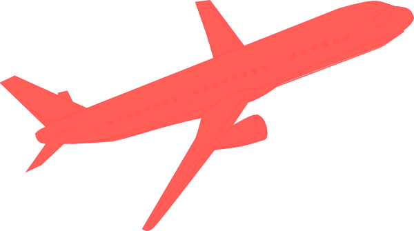 Red airplane clipart image transparent download Airplane Clipart | Free download best Airplane Clipart on ... image transparent download