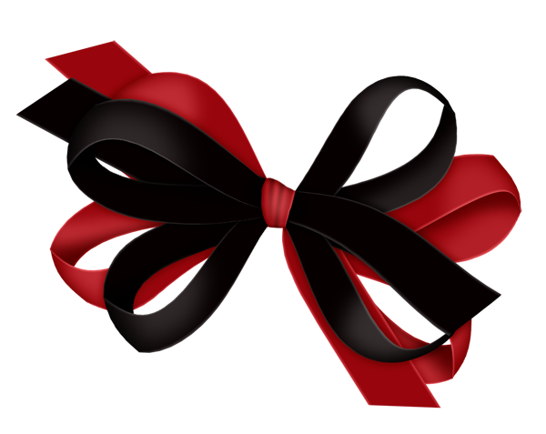 Red and black clipart image royalty free download Red and Black Bow Clipart | Gallery Yopriceville - High ... image royalty free download