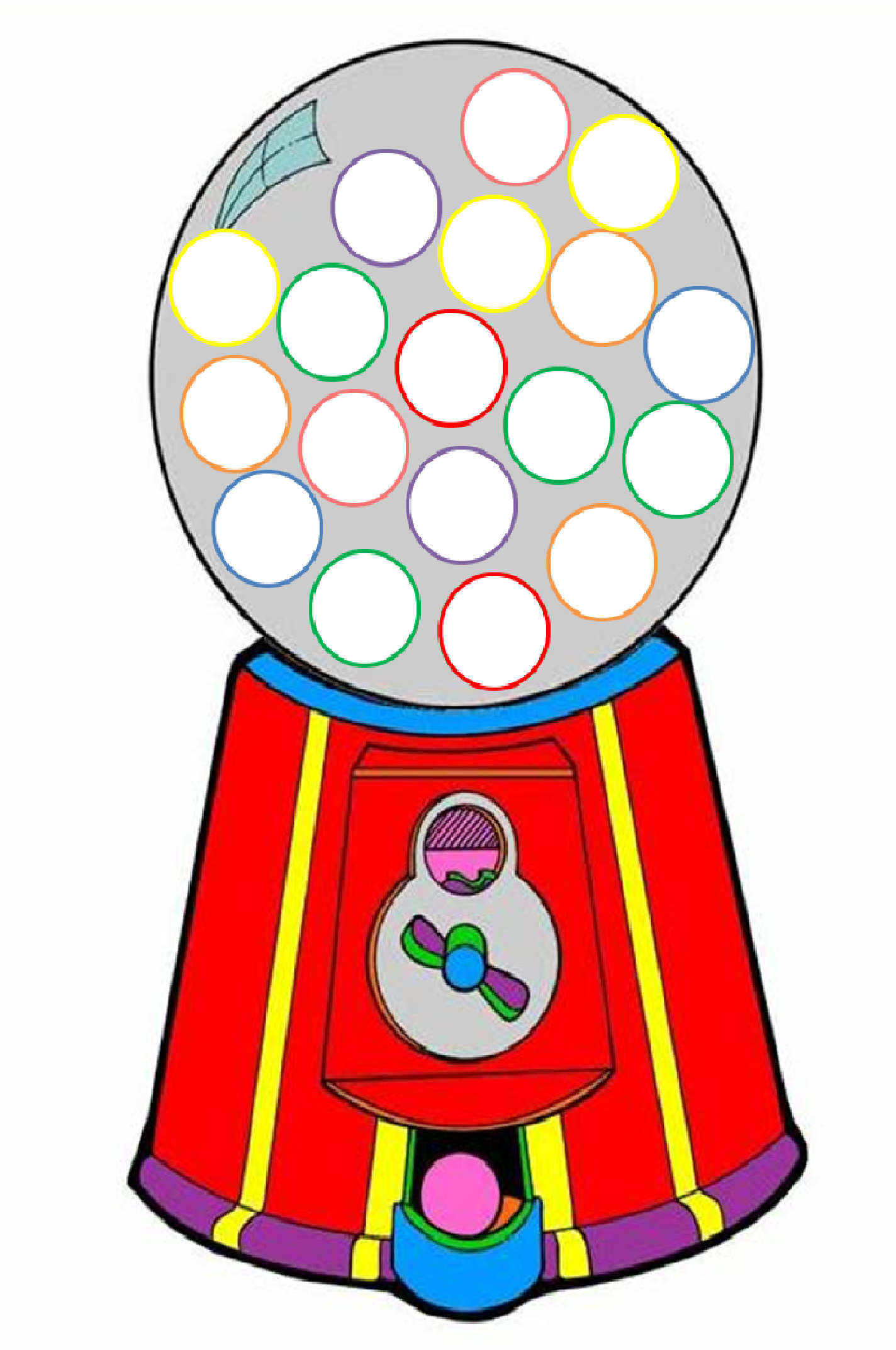 Gumball Machine Clipart | Free download best Gumball Machine ... png free stock