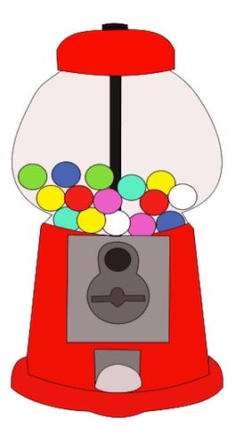 Gumball Machine Clipart | Free download best Gumball Machine ... graphic royalty free stock