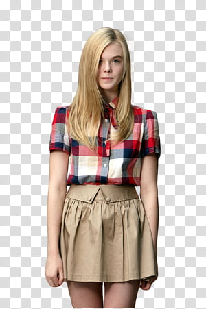Red and black plaid skirt stock clipart free download Apink for Skoolooks HD, woman wearing blue button-up coat ... free download