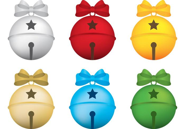 Jingle Bells Vectors with Bows - Download Free Vectors ... png black and white download