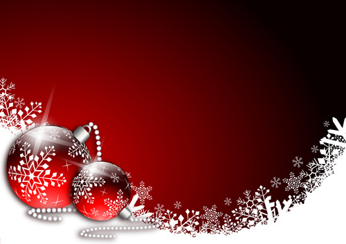 Red and green christmas background free vector download ... graphic royalty free