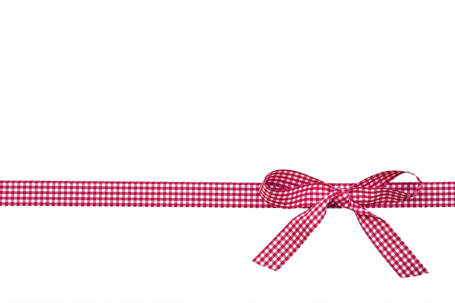Ribbon & Bow Red Checks Free Stock Photo - Public Domain ... clipart black and white download