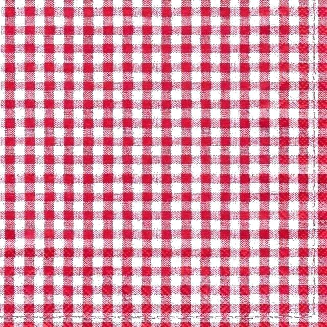 Red Checked Tablecloth White Plate Over Picnic And Checkered ... jpg free