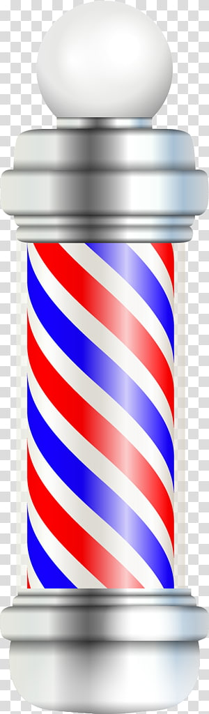Red and white striped pole cartoon clipart clip black and white Red and white barber pole illustration, Barber\\\'s pole ... clip black and white
