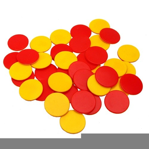 Red and yellow counters clipart png library stock Teddy Bear Counters Clipart | Free Images at Clker.com ... png library stock