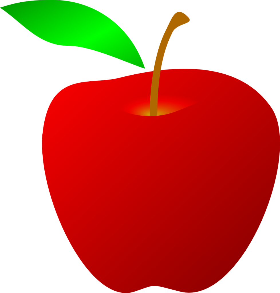 Red apple banana clipart clip free library Red Apple Drawing Clip art - apple fruit 978*1024 transprent Png ... clip free library