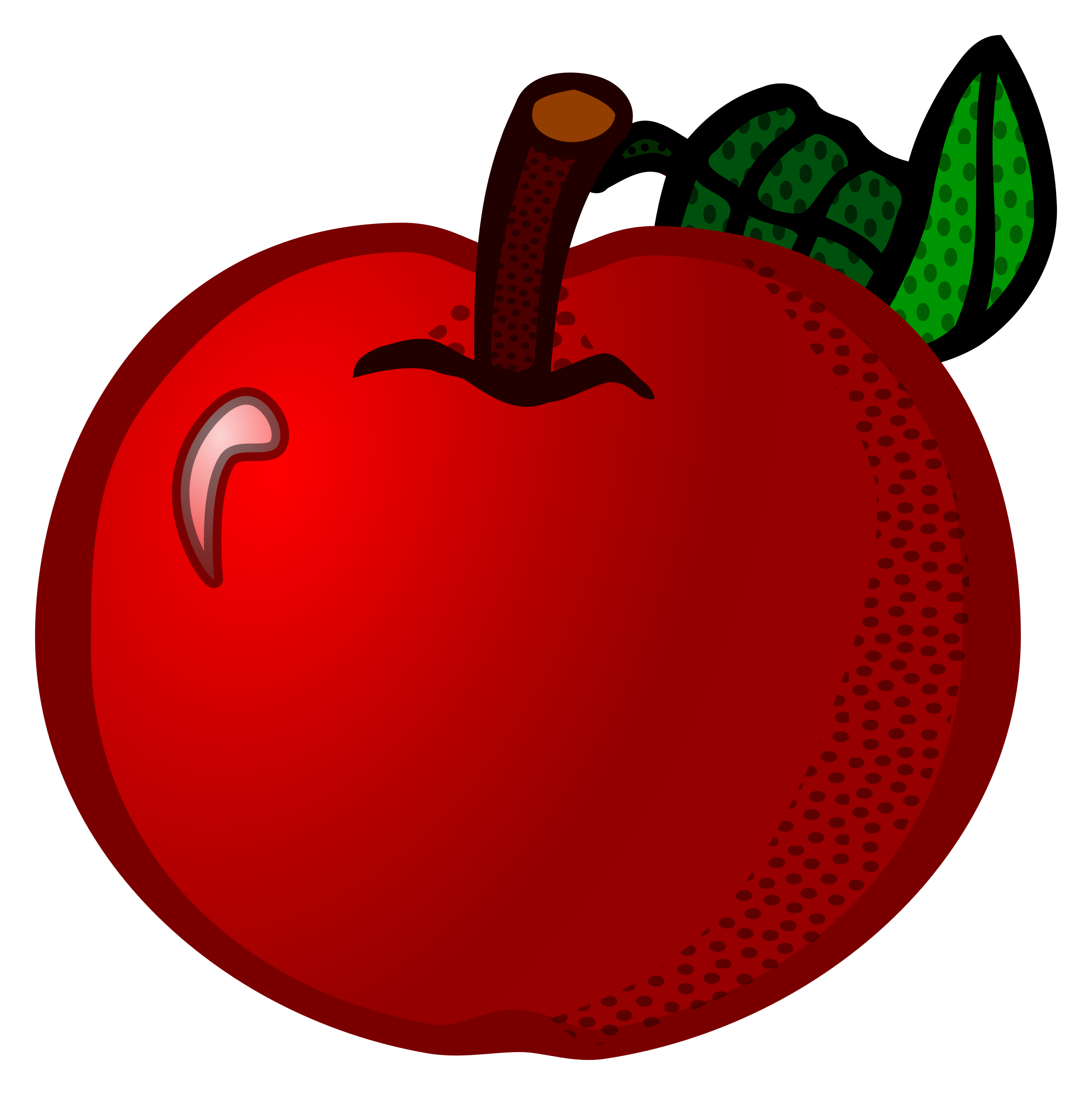 Red apple outline clipart jpg freeuse download apple - coloured Icons PNG - Free PNG and Icons Downloads jpg freeuse download