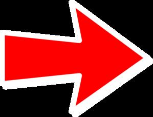 Red arrow clip art clip art transparent library Red Arrow Clipart - Clipart Kid clip art transparent library