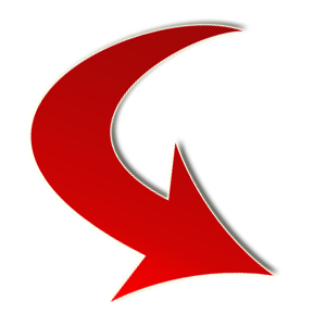 Red arrow graphic svg library download Curved Red Arrow - ClipArt Best svg library download