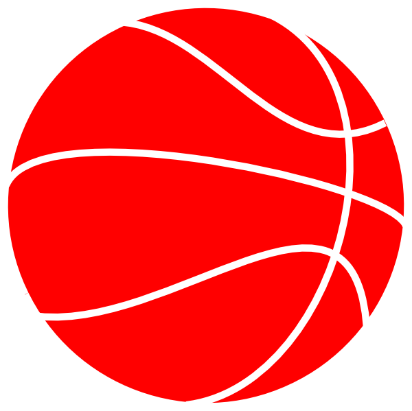 Red basketball clipart picture Nchs Basketball Clip Art at Clker.com - vector clip art online ... picture
