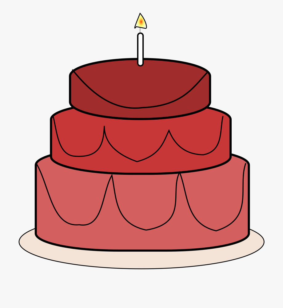 Red birthday cake clipart clipart stock Free To Use & Public Domain Cake Clip Art - Red Birthday ... clipart stock