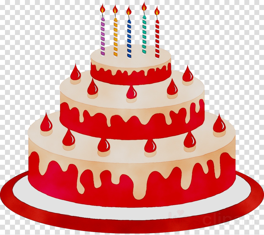 Red birthday cake clipart picture free Cartoon Birthday Cake clipart - Cupcake, Cake, Cartoon ... picture free