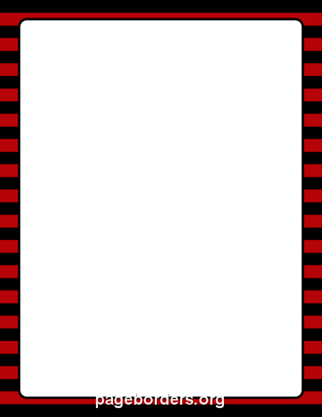 Red black frame clipart jpg black and white stock Pin by Muse Printables on Page Borders and Border Clip Art ... jpg black and white stock
