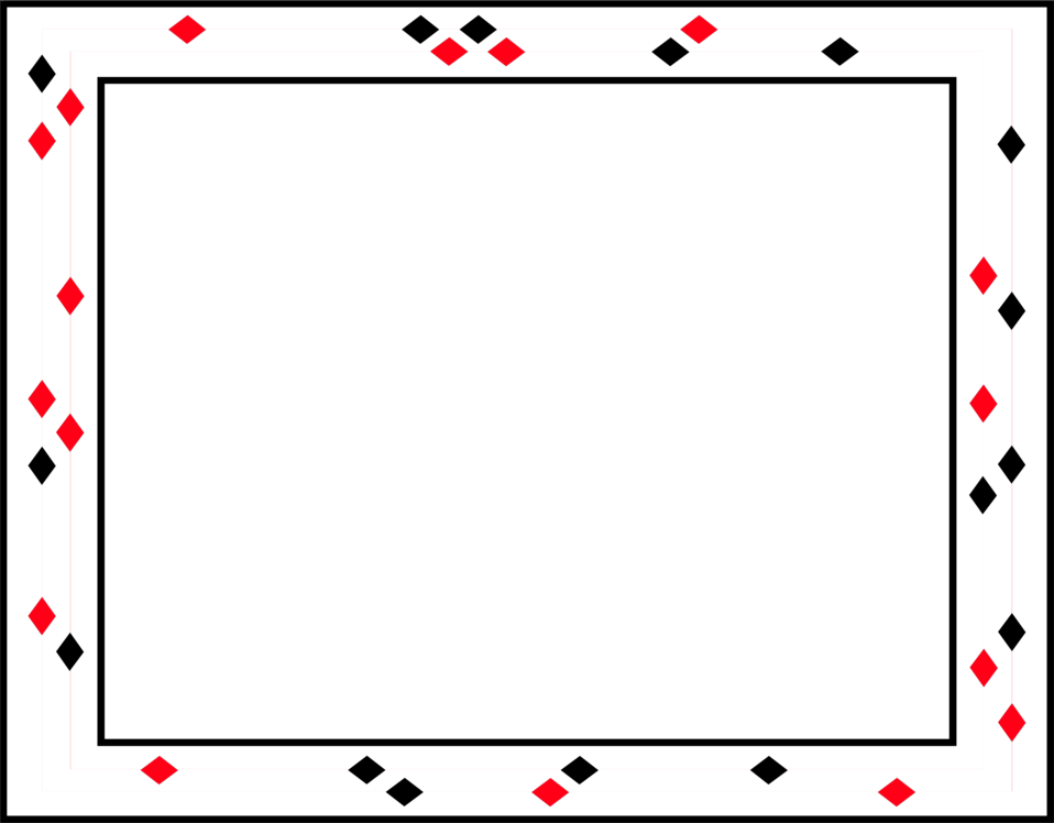 Red and black border clipart images gallery for free ... clip art royalty free stock