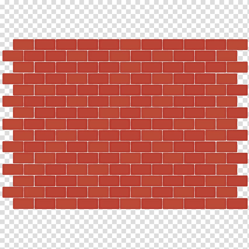 Red brick background clipart svg library stock Brown wall brick , Brick Wall Mosaic Tile Floor, Red Brick ... svg library stock