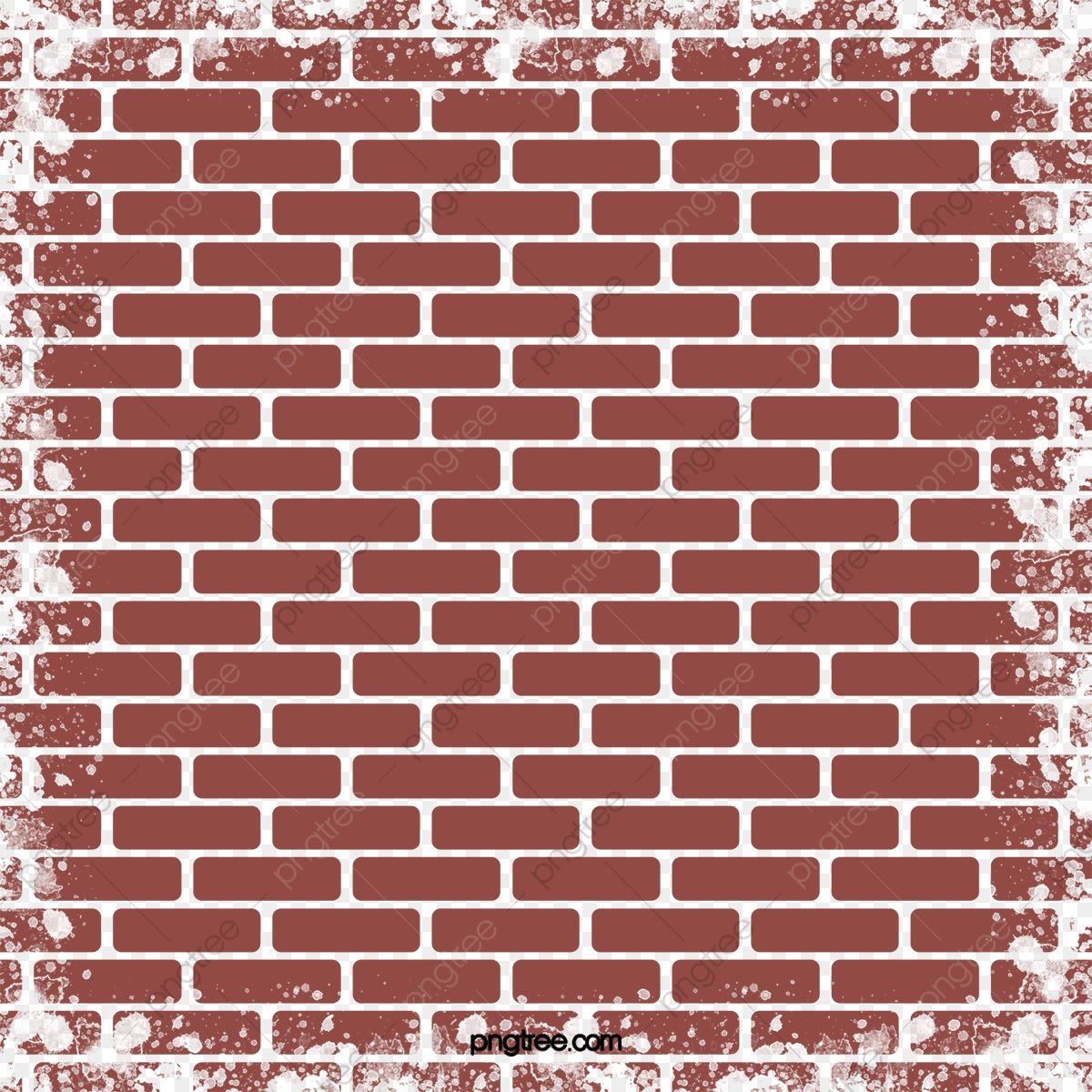 Red Brick Wall, Red Brick, Wall, Red PNG Transparent Clipart ... clip library library