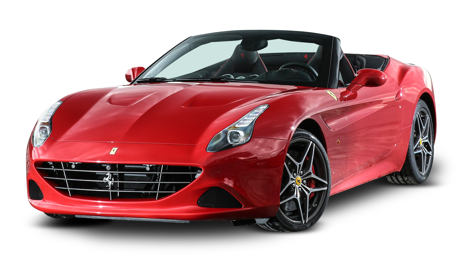 Red car clipart png vector royalty free Ferrari California Red Car PNG Image - PurePNG | Free transparent ... vector royalty free