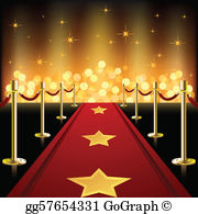 Red carpet clipart images svg library download Red Carpet Clip Art - Royalty Free - GoGraph svg library download