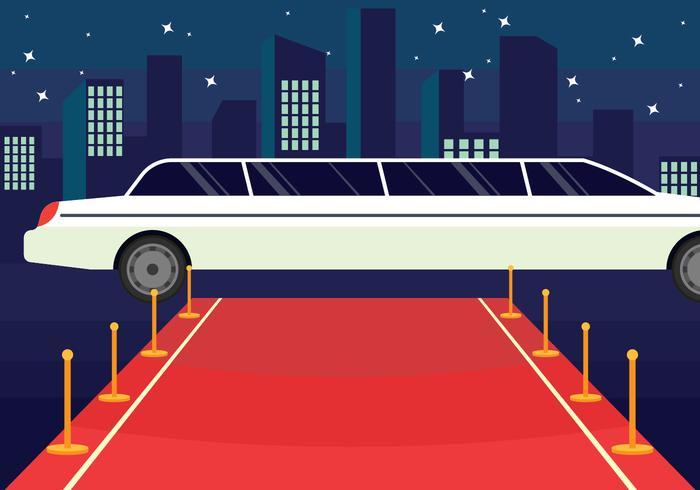 Red carpet clipart limousine jpg free download Hollywood Red Carpet Illustration - Download Free Vectors ... jpg free download