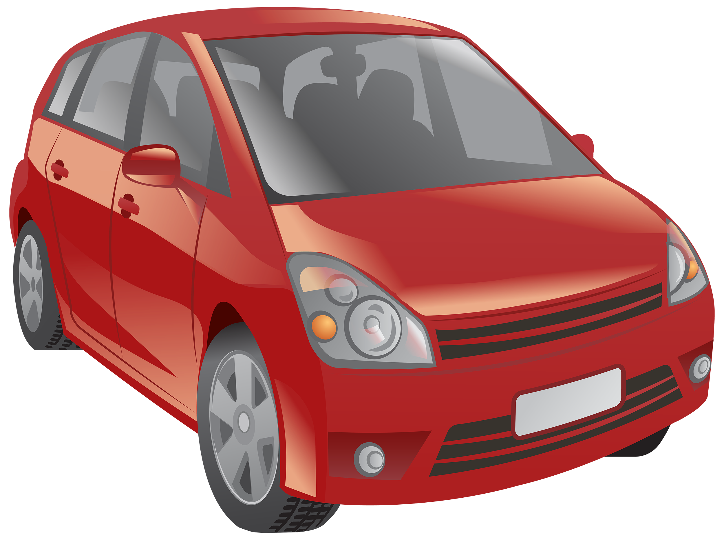 Red cars clipart svg black and white download Red Car PNG Clipart - Best WEB Clipart svg black and white download