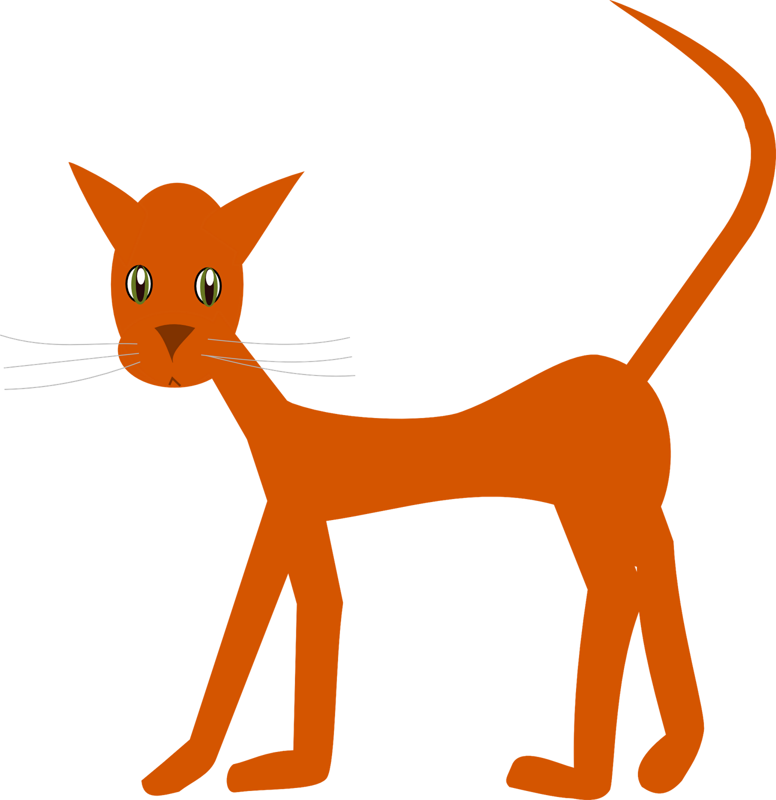 Red cat clipart png free stock Free Cat Images: free cat doodle clipart graphic – png transparent ... png free stock