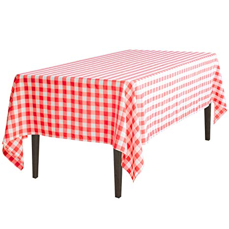Red checkered tablecloth wine clipart png free library LinenTablecloth 60 x 102-Inch Rectangular Tablecloth Red & White Checker png free library