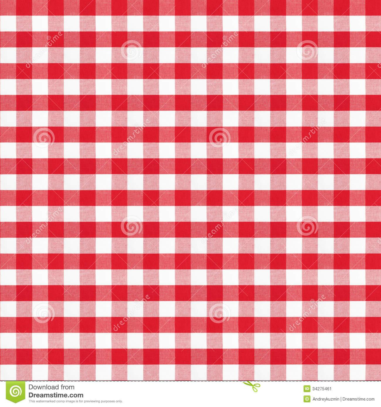 Red checkered tablecloth wine clipart