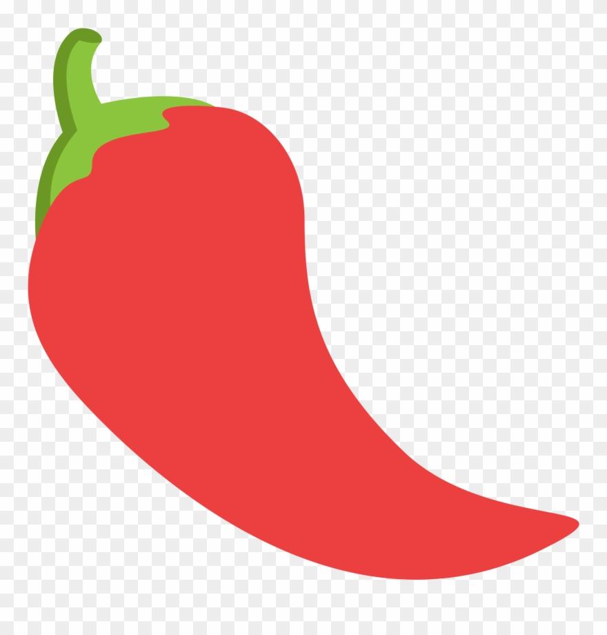 Red chili pepper clipart clip Chili Pepper Clipart 16, Buy Clip Art - Chile Emoji - Png ... clip