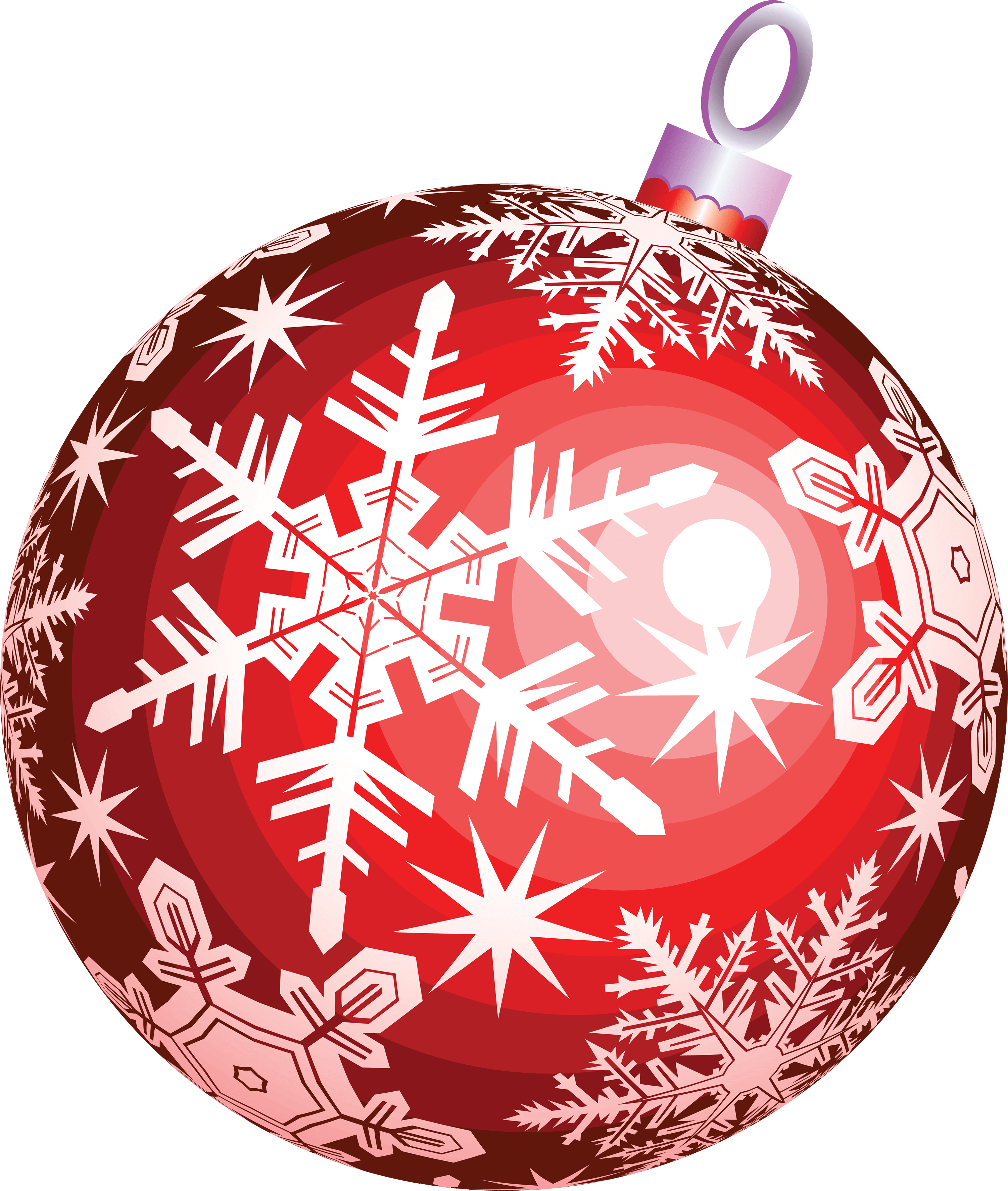 Red christmas ornament clipart jpg royalty free library Red Christmas Ball Toy Png Image jpg royalty free library