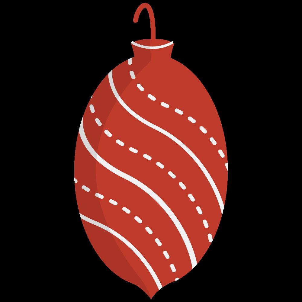 Red christmas ornament clipart clip art stock Red Christmas Ornament Clipart – Happy Holidays! clip art stock