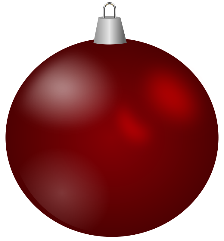 Red christmas ornament clipart image library download 28+ Collection of Free Christmas Ball Ornament Clipart | High ... image library download