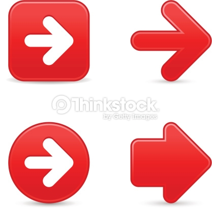 Red circle arrow clipart picture freeuse stock Red Arrow Sign Satin Icon Web Internet Button Circle Square Vector ... picture freeuse stock