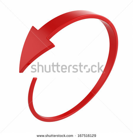 Red circle arrow clipart picture free stock 3d Circular Arrow Stock Images, Royalty-Free Images & Vectors ... picture free stock