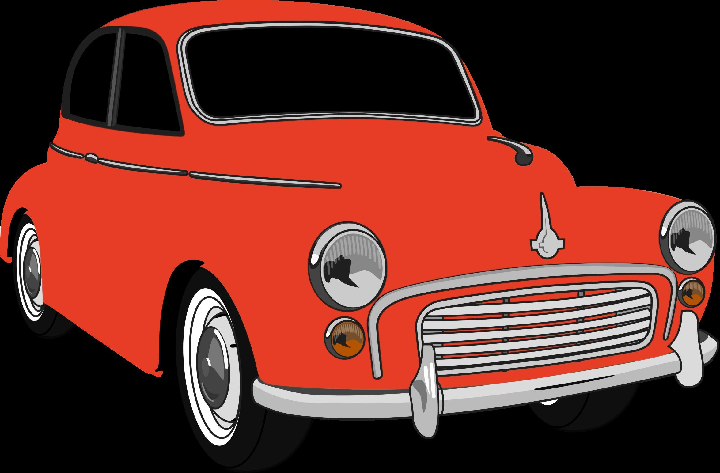 Red classic car clipart clip transparent library Clipart - Classic Red Car clip transparent library