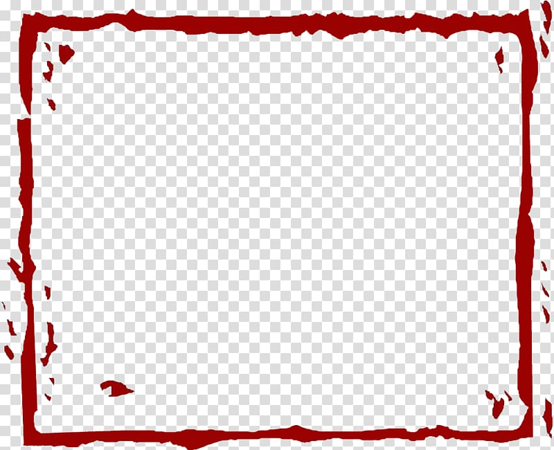Red clipart border png free stock Square red frame illustration, Red, Red Line border ... png free stock