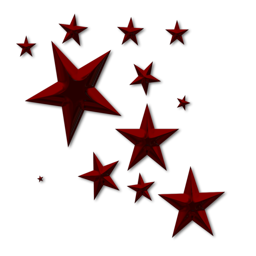 Star cluster clipart black and white library Red Star Clip Art | Clipart Panda - Free Clipart Images black and white library