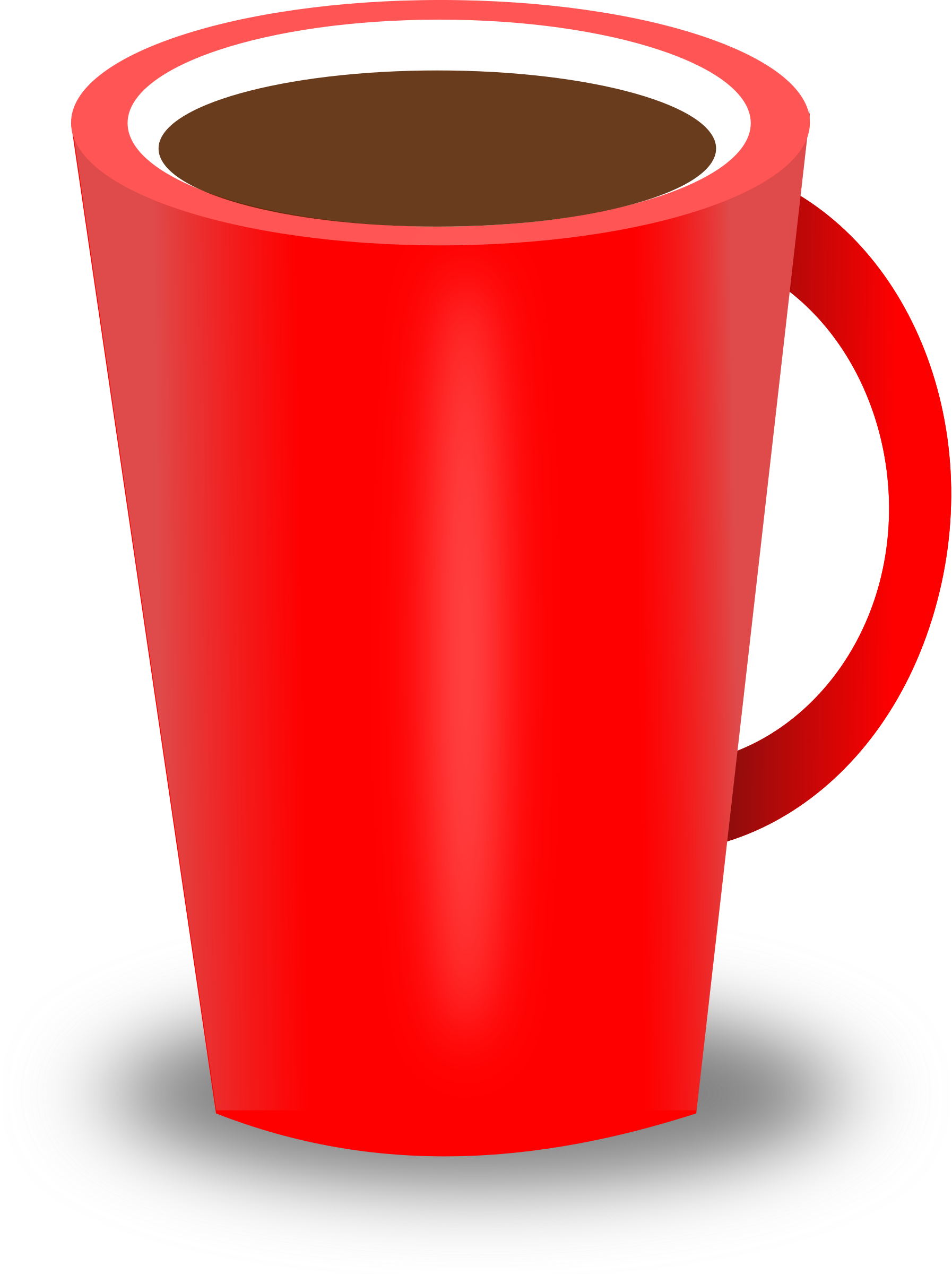 Clipart red coffee cup - ClipartBarn picture royalty free download