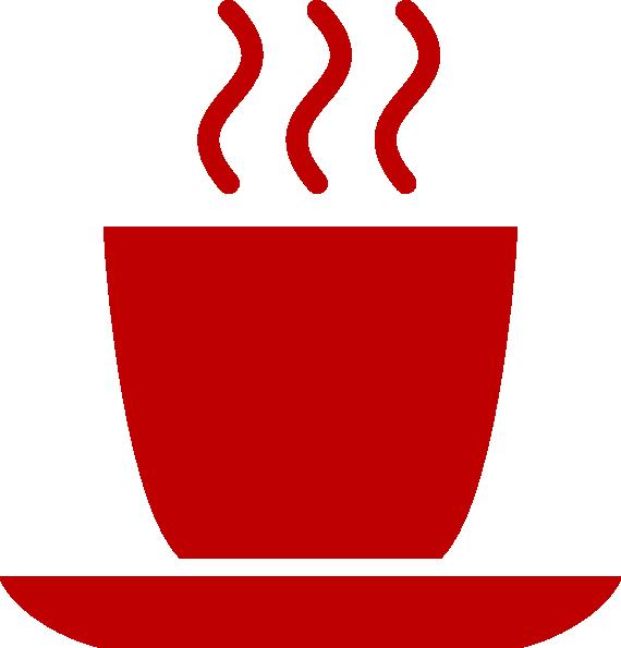 Red Coffee Mug Clip Art at Clker.com - vector clip art ... png freeuse download