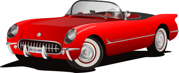 Red convertible clipart clip black and white stock Free Cartoon Convertible Car, Download Free Clip Art, Free ... clip black and white stock