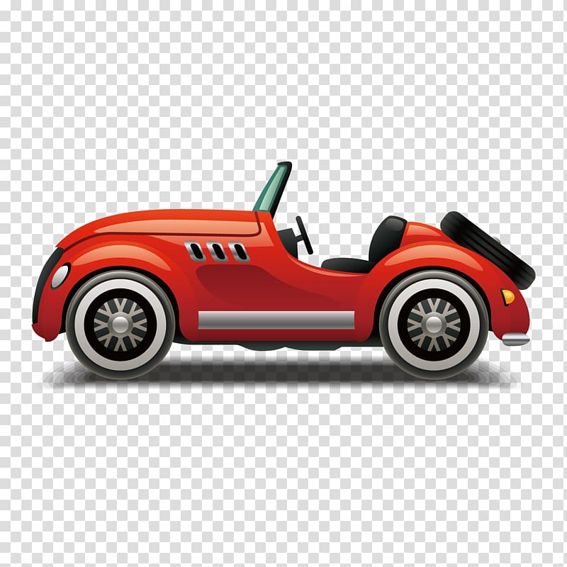 Red convertible clipart clipart transparent library Sports car Automotive design, open-top sports car, classic ... clipart transparent library