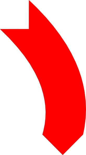 Red curved arrow left clipart picture Curved Arrow Image | Free Download Clip Art | Free Clip Art | on ... picture