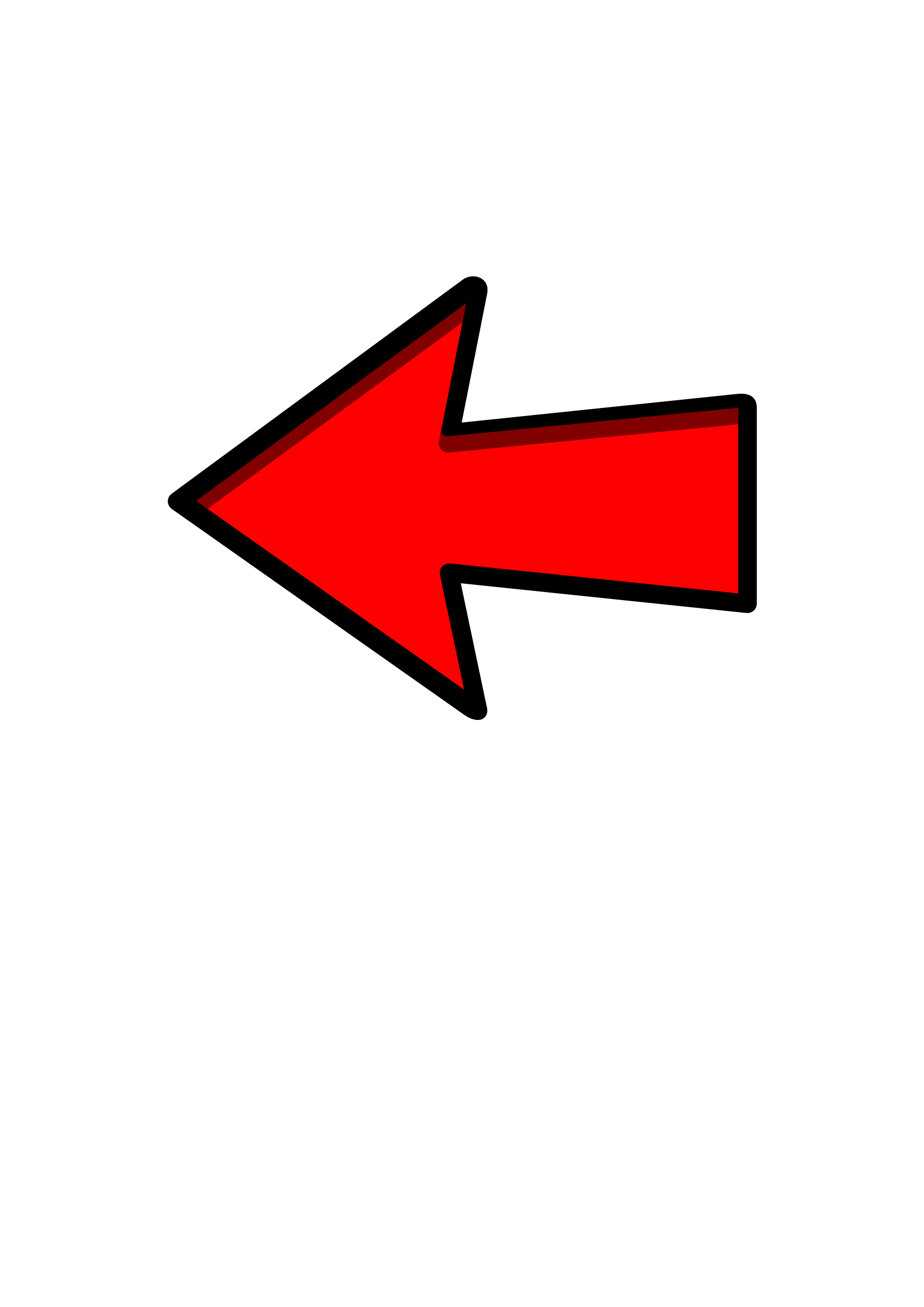 Red curved arrow left clipart royalty free download Images: Arrow royalty free download