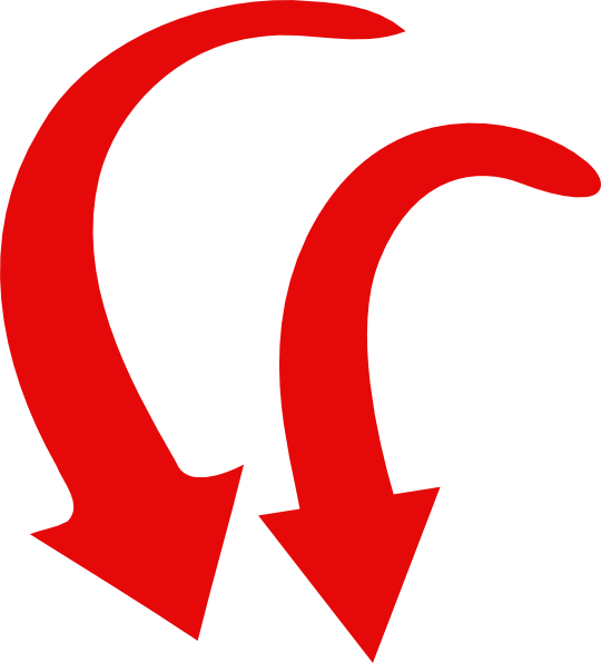 Red curved arrow left clipart banner library library 2 Red Arrow Curve Clip Art at Clker.com - vector clip art online ... banner library library